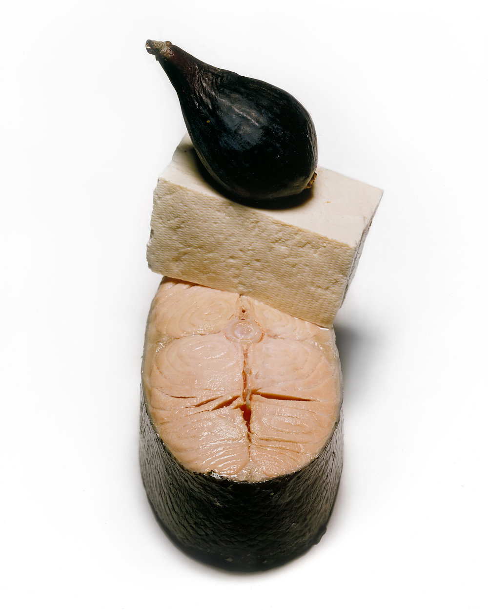 Fig, Tofu, and Salmon , New York, 1998 Silver dye bleach print © Condé Nast