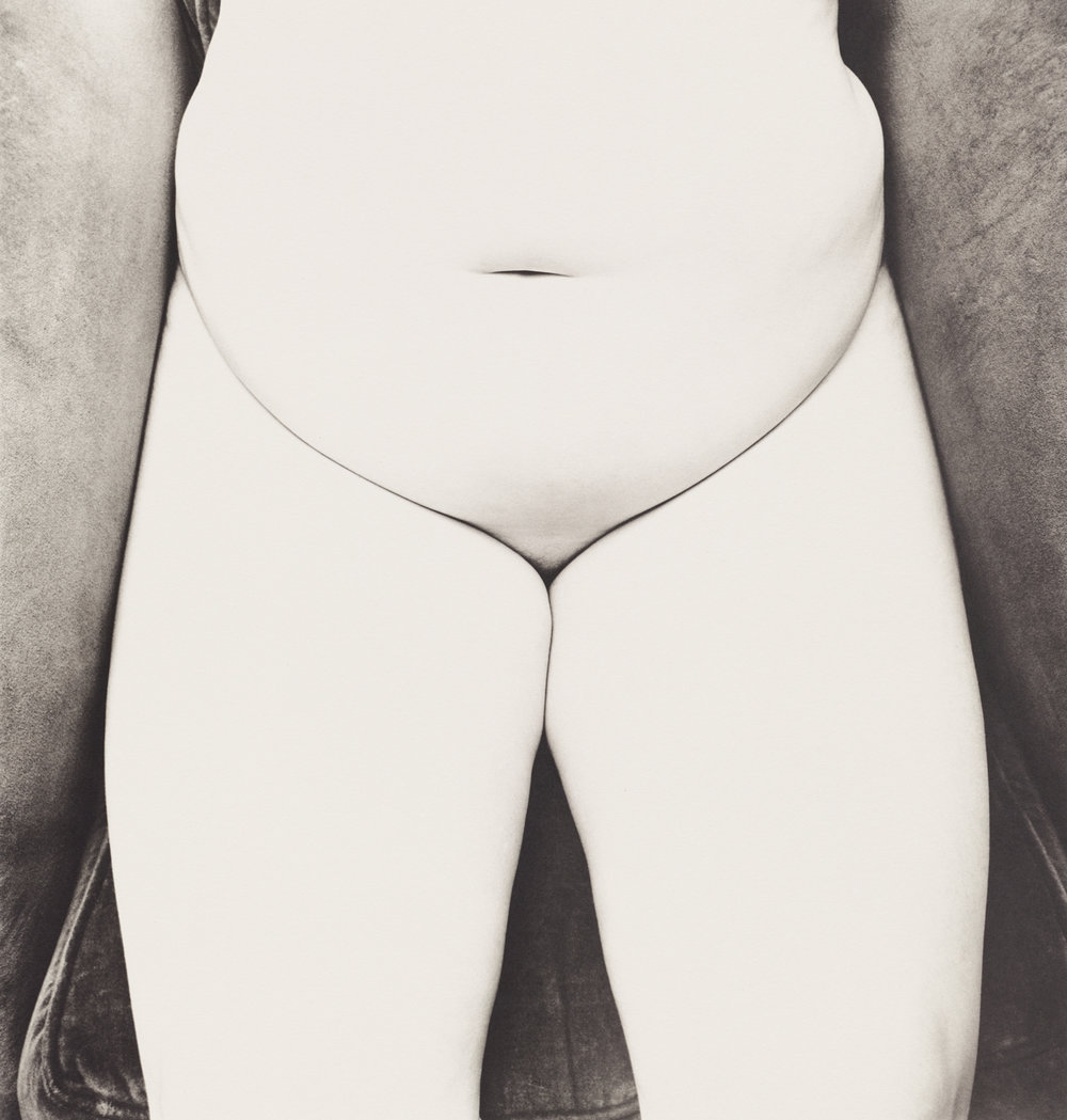 Nude No. 150 , New York, 1949–50 Platinum-palladium print © The Irving Penn Foundation