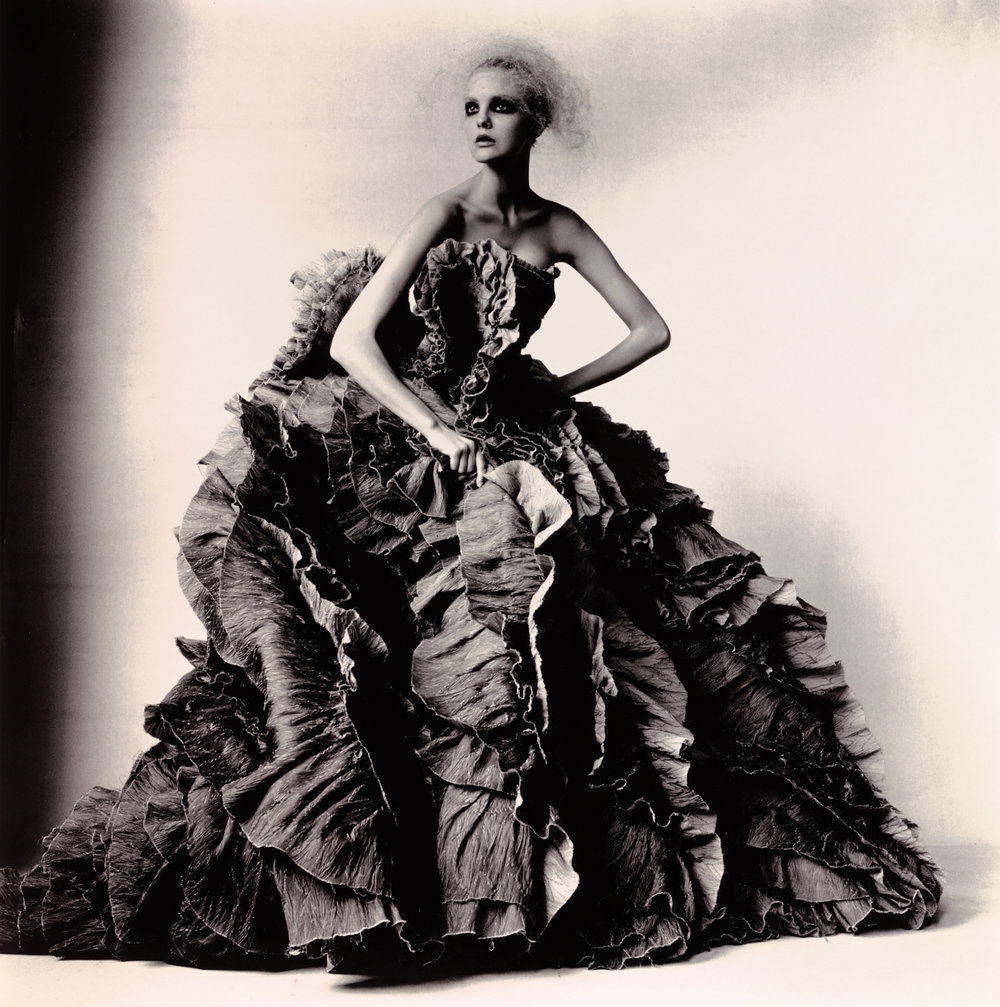 Ball Dress by Olivier Theyskens for Nina Ricci , New York, 2007 Gelatin silver print © Condé Nast