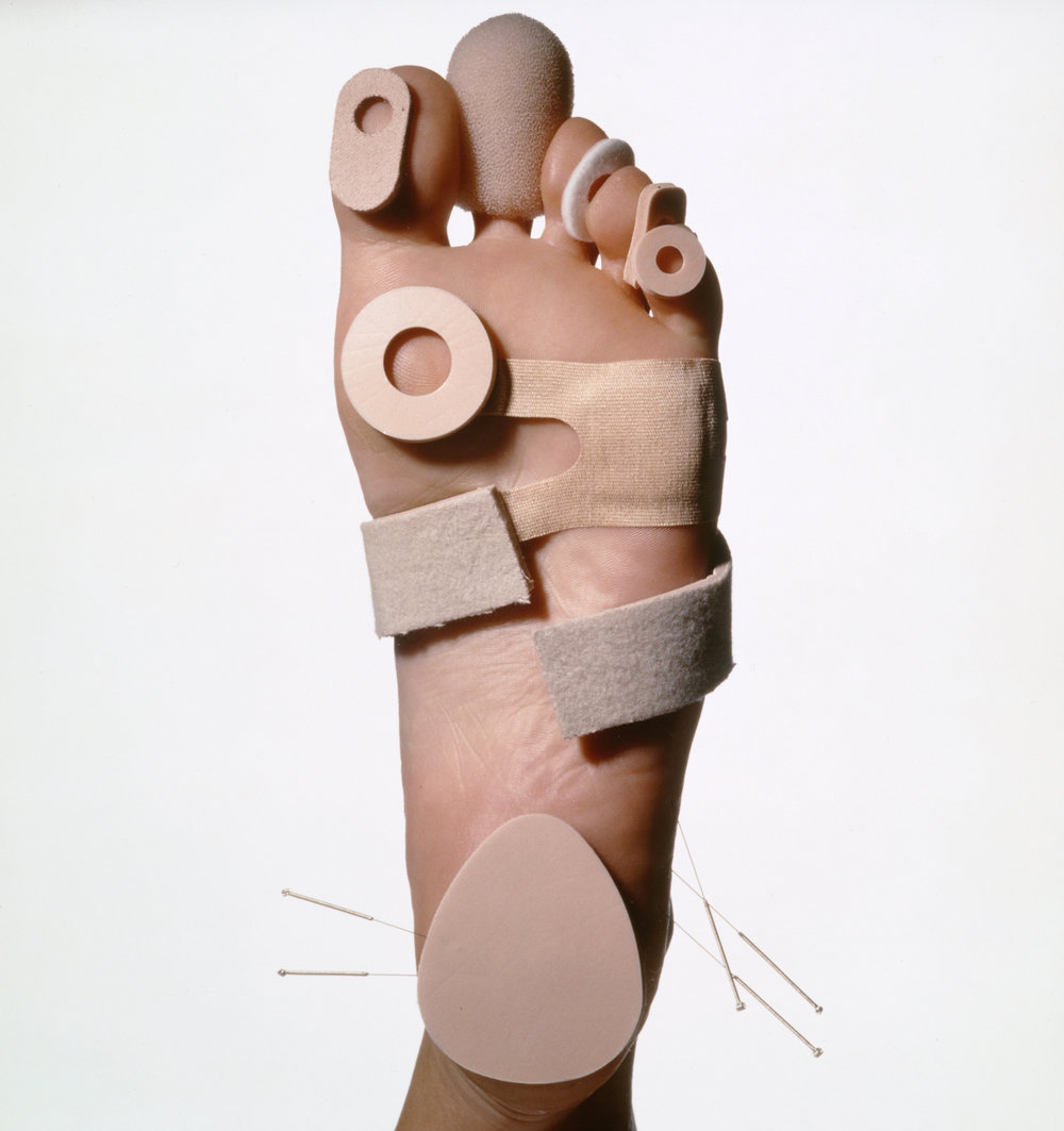 Foot Care , New York, 1990 Silver dye bleach print © Condé Nast
