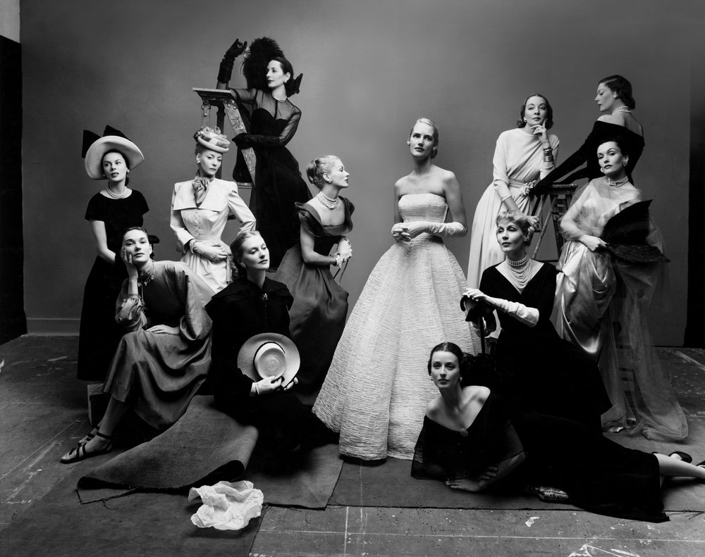 The Twelve Most Photographed Models , New York, 1947 Gelatin silver print © Condé Nast