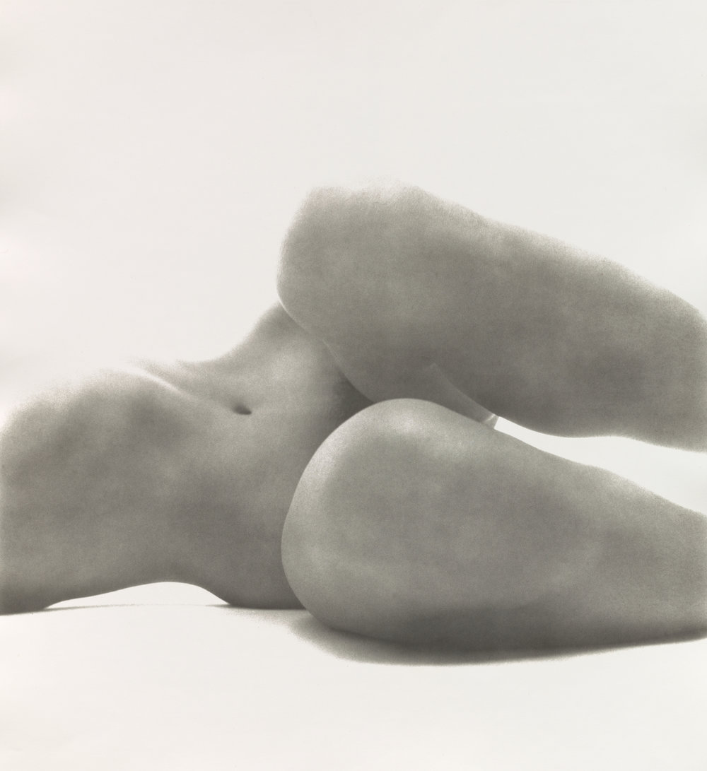 Nude No. 58 , New York, 1949–50 Gelatin silver print © The Irving Penn Foundation