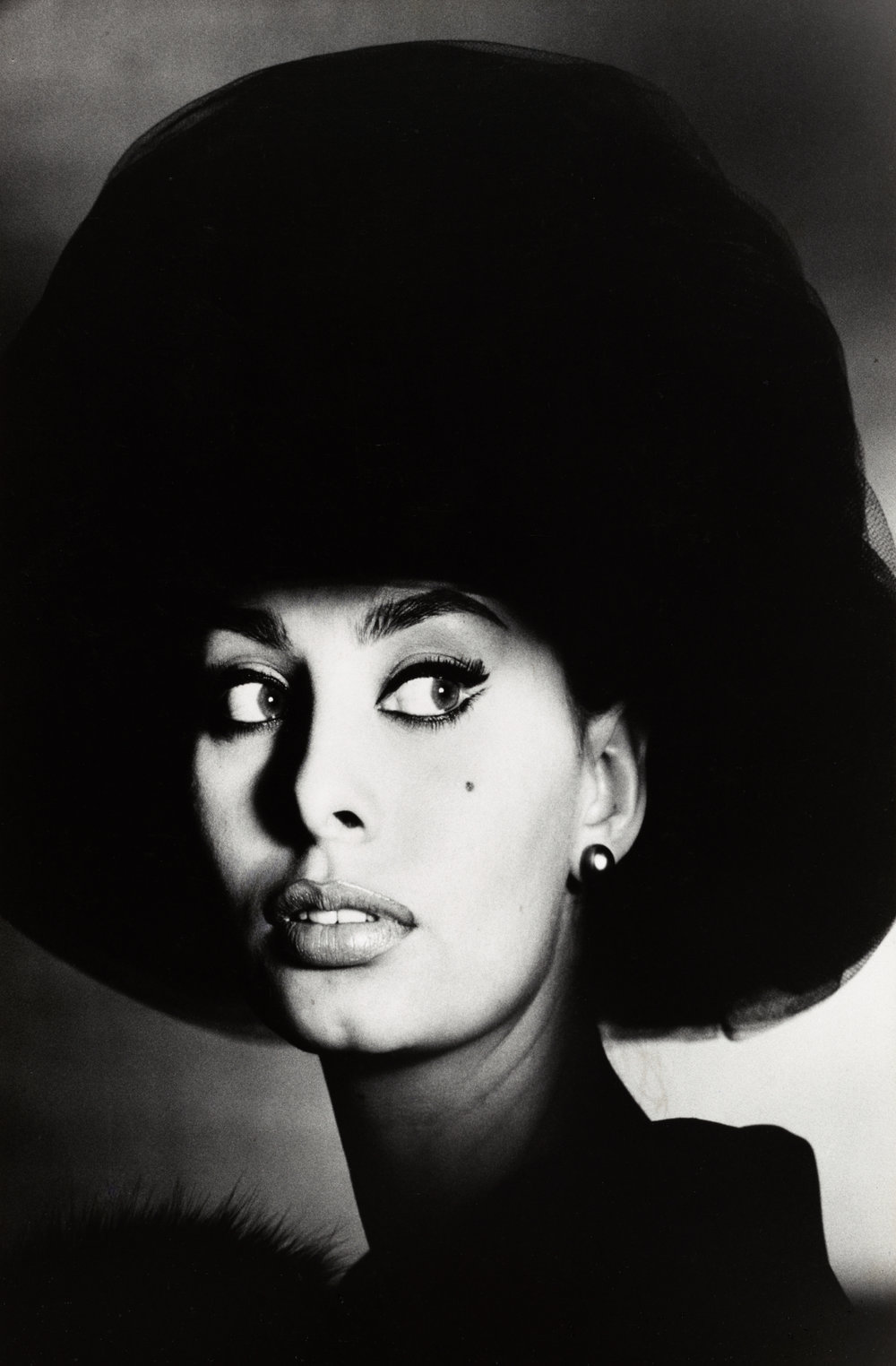 Sophia Loren , New York, 1959 Gelatin silver print © Condé Nast