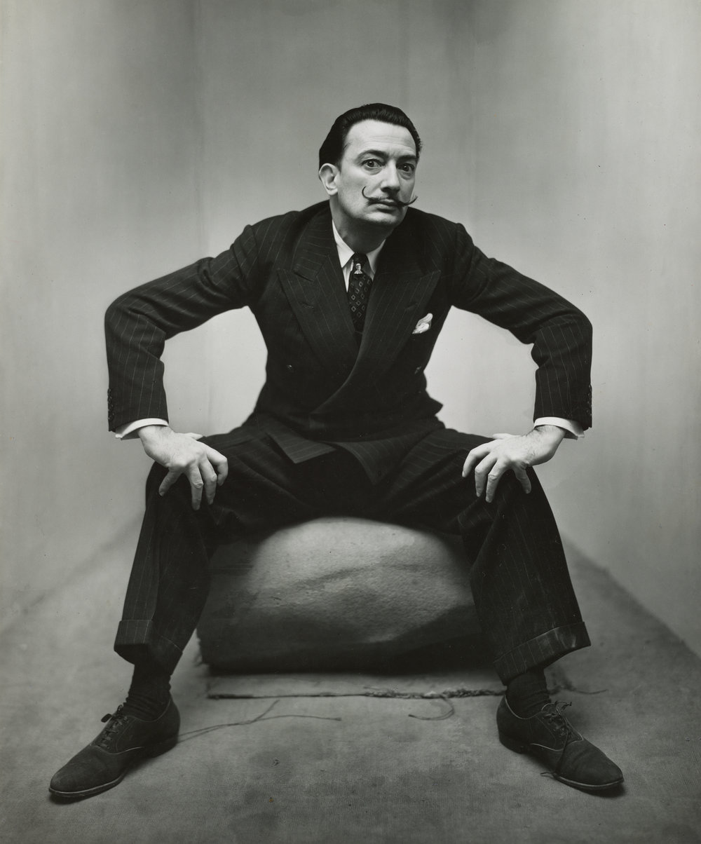 Irving Penn, Salvador Dalí, New York, 1947 © The Irving Penn Foundation