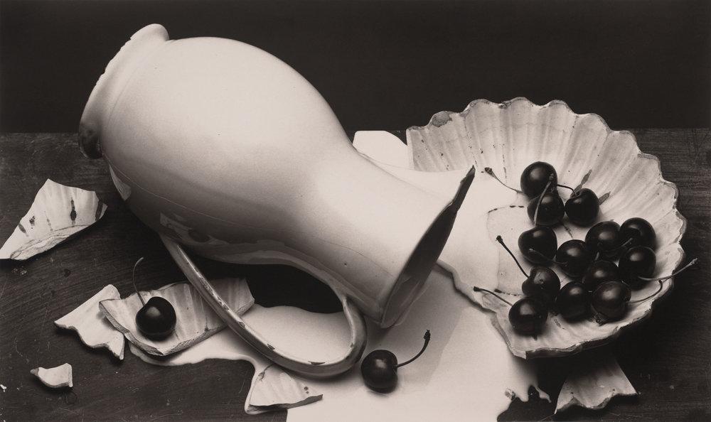 Irving Penn,The Spilled Cream,New York, 1980 ©The Irving Penn Foundation