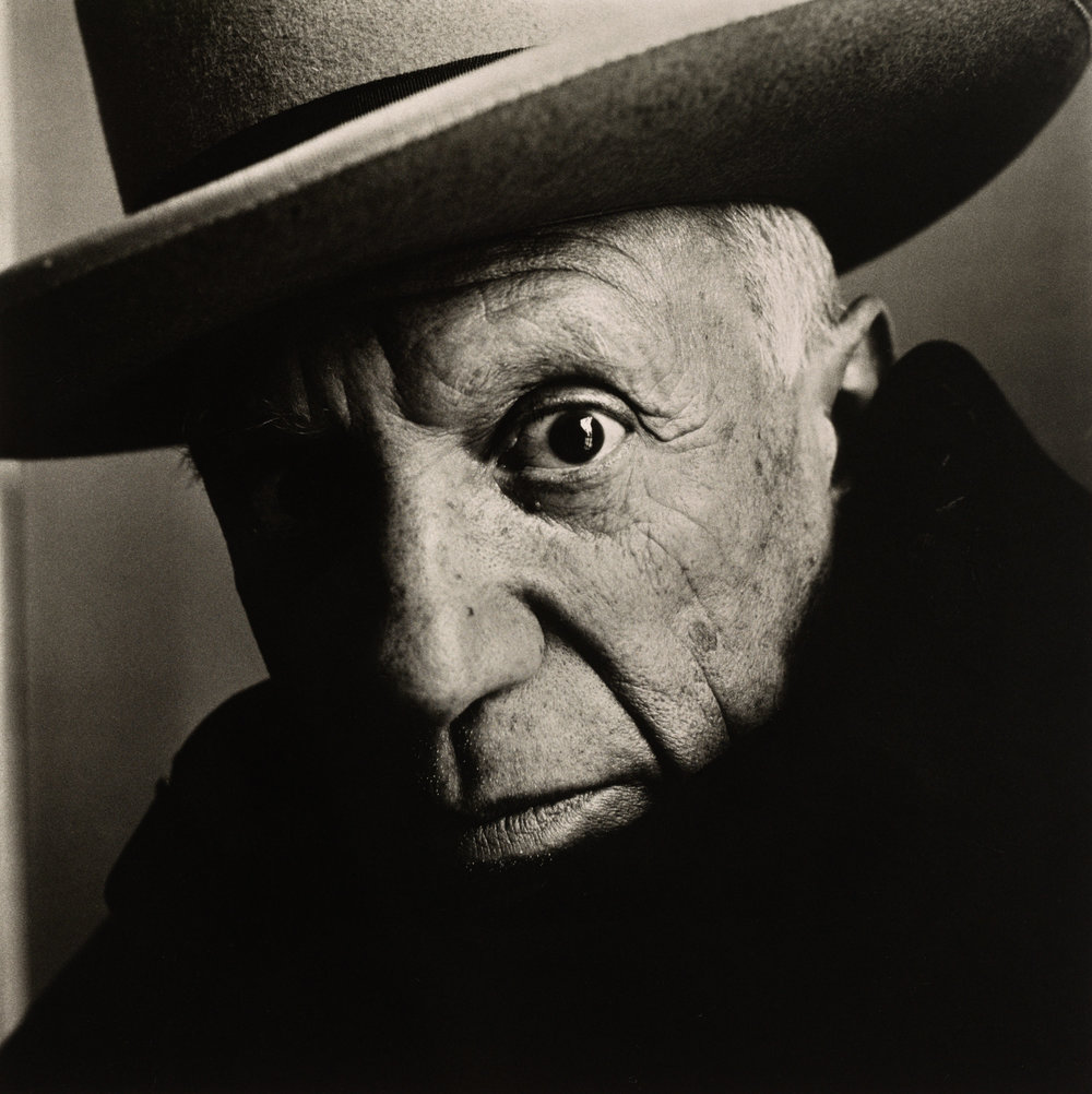 Irving Penn,  Pablo Picasso at La Californie  ,  Cannes, 1957  ©  The Irving Penn Foundation