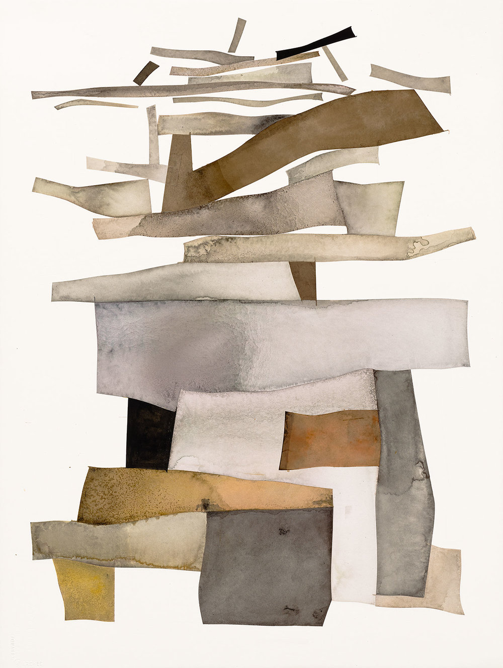 Tower of Babel , 2006 India ink with gum arabic over graphite on paper © The Irving Penn Foundation