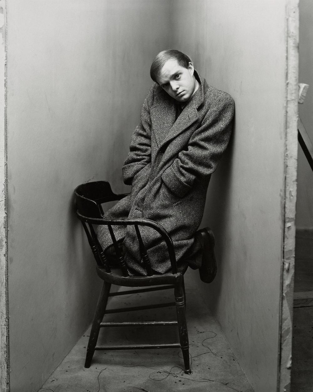 Irving Penn,  Truman Capote (1 of 4) , New York, 1948  ©  The Irving Penn Foundation