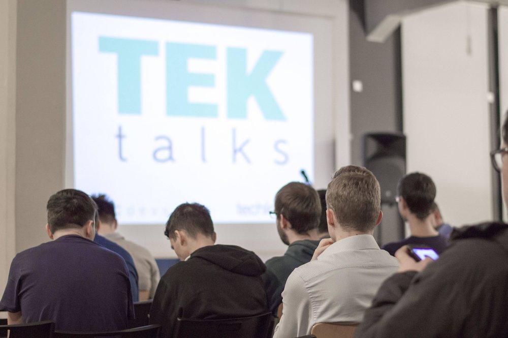 TEK Talks #1