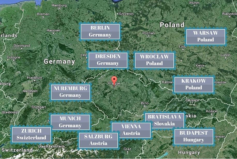 Okolí České republiky