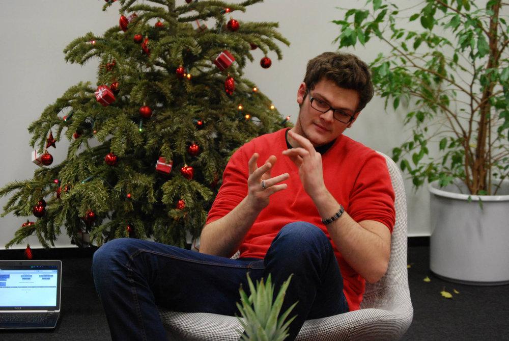 Tomáš našel práci přes Techloop
