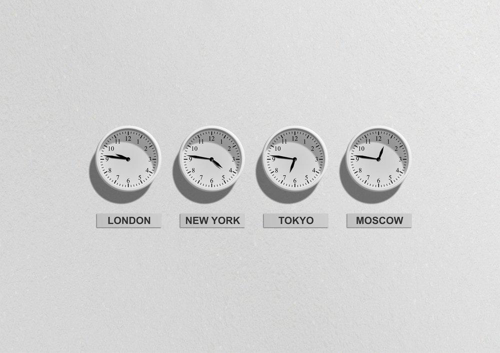 časový posun digitální nomádství