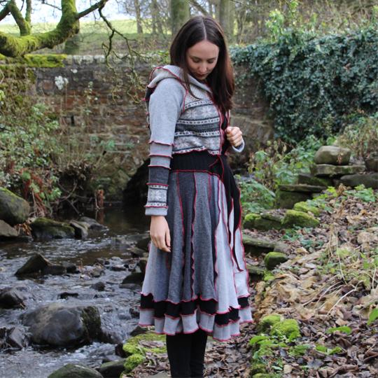 Wooly Peddlar - Sue Reed – Wooly Peddlar, N.E creator of upcycled knitwear, saving woollies from landfill.