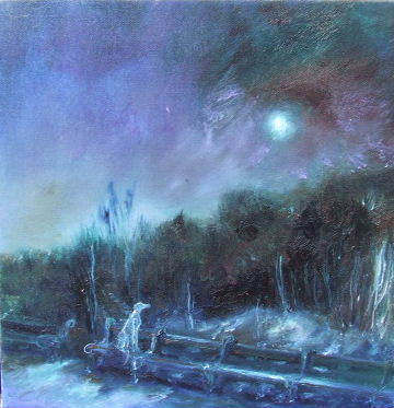 Kate Van Suddese - North East Artist working in oils and acrylics