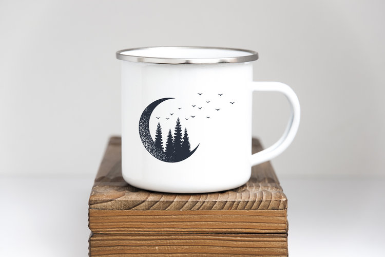 6fdbd531e5 Mountain Mama Enamel Camping Mugs — Sovende Bjorn Supply Co