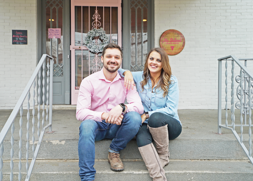 - Originally from Louisville, KY, Megan Beaven moved to Nashville to attend Belmont University. After graduating and spending some time working in the Music Industry, Megan decided to take control of her career and start NoBaked Cookie Dough. Originally an online store with pop-up shops, NoBaked now has a storefront in Nashville. Megan and her fiancé, Jimmy, are growing the company and planning on opening in other cities and franchising.