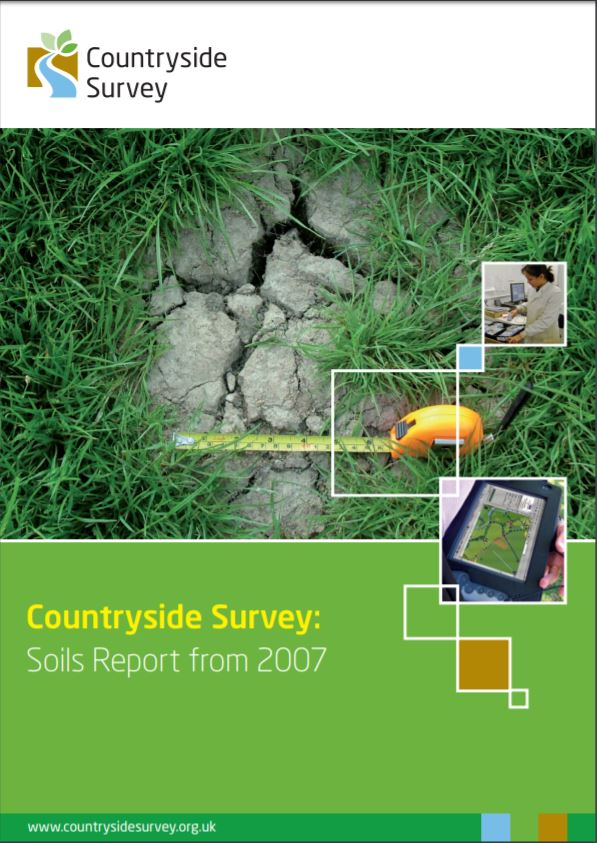 Countryside Survey: Soils Report from 2007    CEH  January 2010   Identifying links between soil variables measured, vegetation & water quality changes…and the change of our environment from man's activities such as land use, air pollution and climate change.