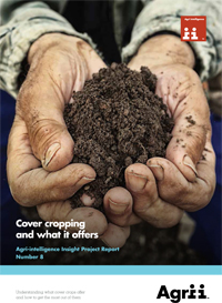 Opportunities for Cover Crops in Conventional Arable Rotations    Agri Intelligence  August 2015   Cover crops can be used repeatedly as part of a long-term strategy to improve soil quality, organic matter and provide other benefits.