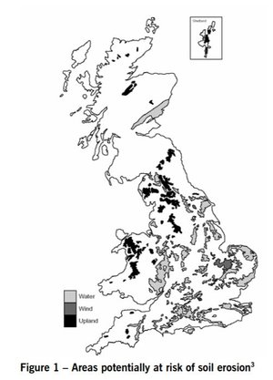POSTnote: UK Soil Degradation    Parliamentary Office of Science & Technology  July 2006   The nature and extent of soil degradation in the UK, and the challenges and opportunities for soils in a changing climate.