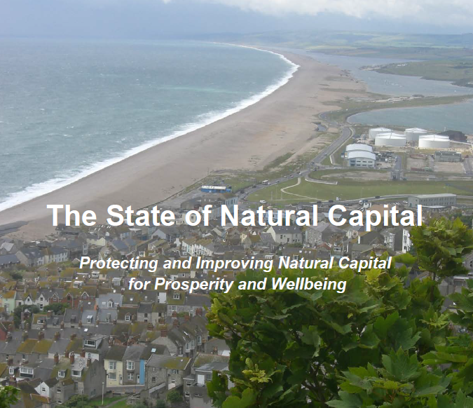 Protecting & Improving Natural Capital for Prosperity & Wellbeing    Natural Capital Committee: 3rd report to EAC  2015   How to ensure England's 'natural wealth' is managed efficiently and sustainably.