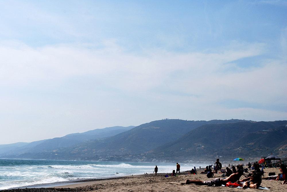 Malibu, California — An escape from the east coast