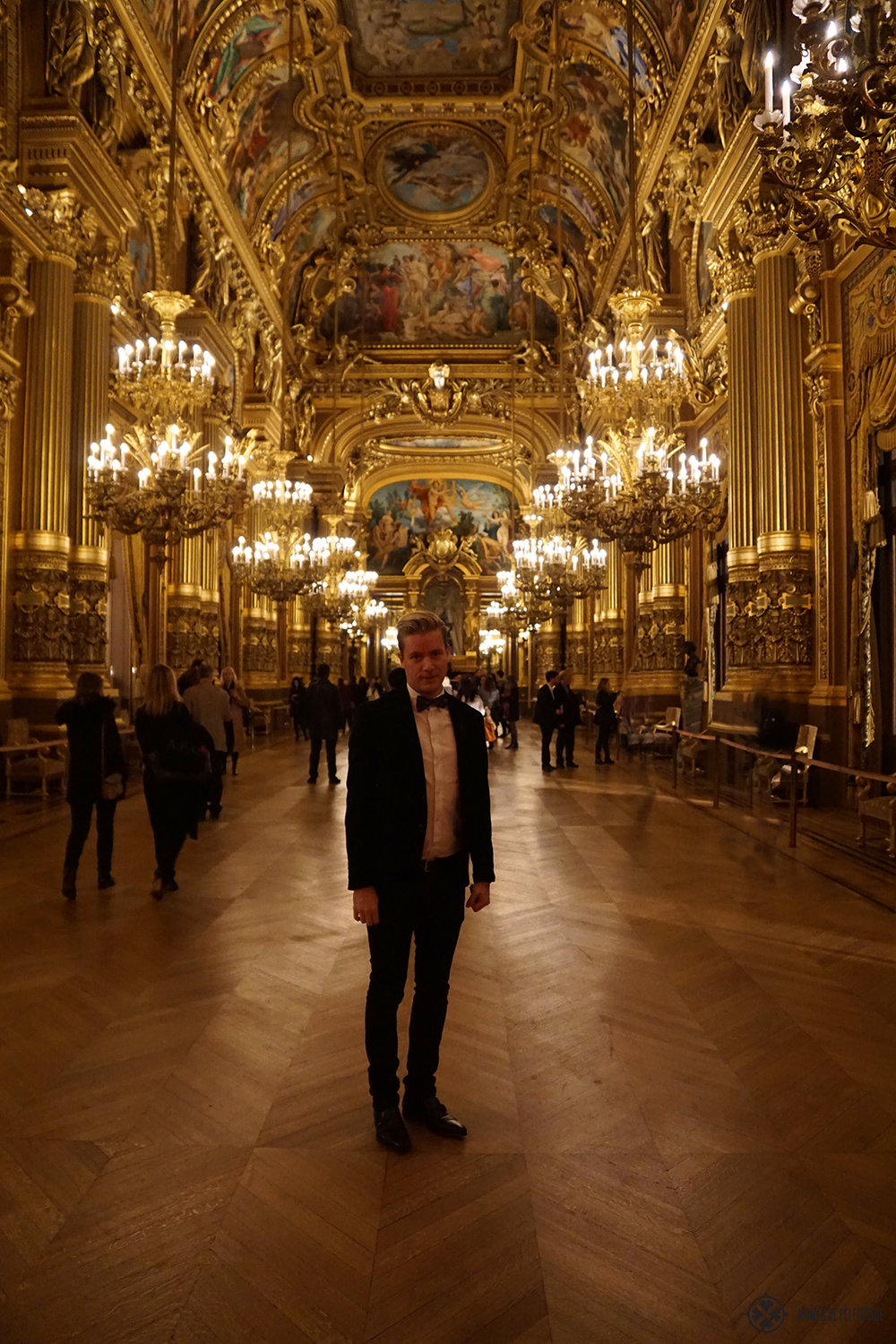 Ballroom at Opera Garnier, Paris