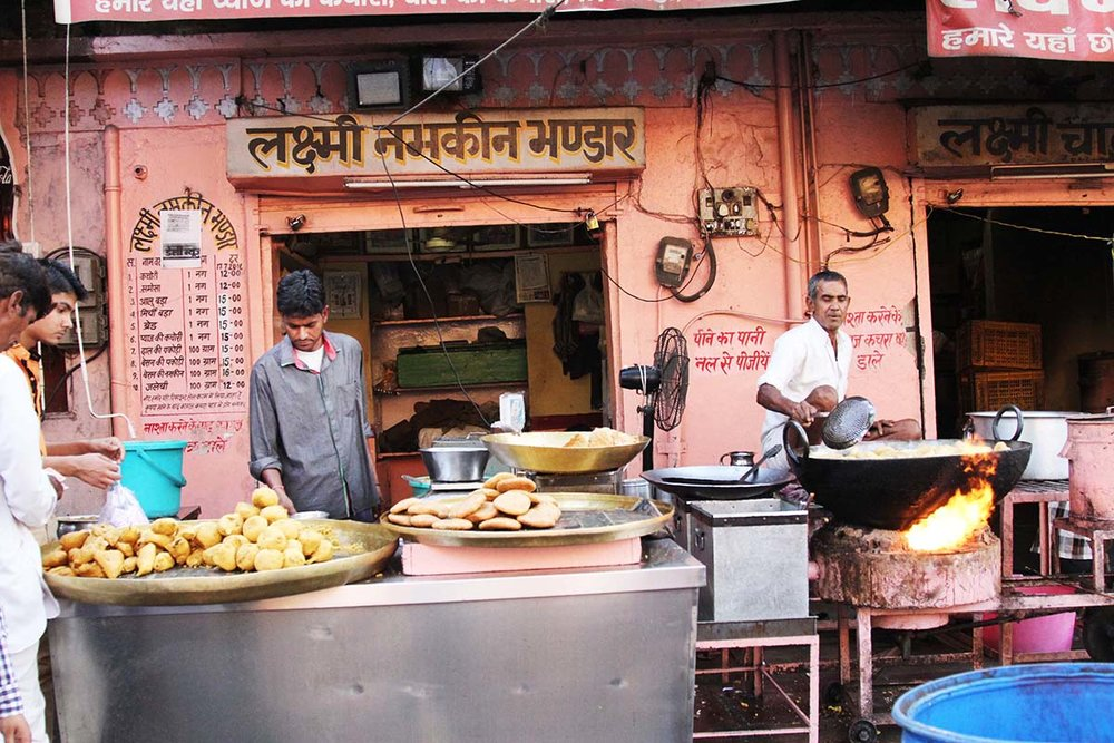 Kachoris in the Pink City