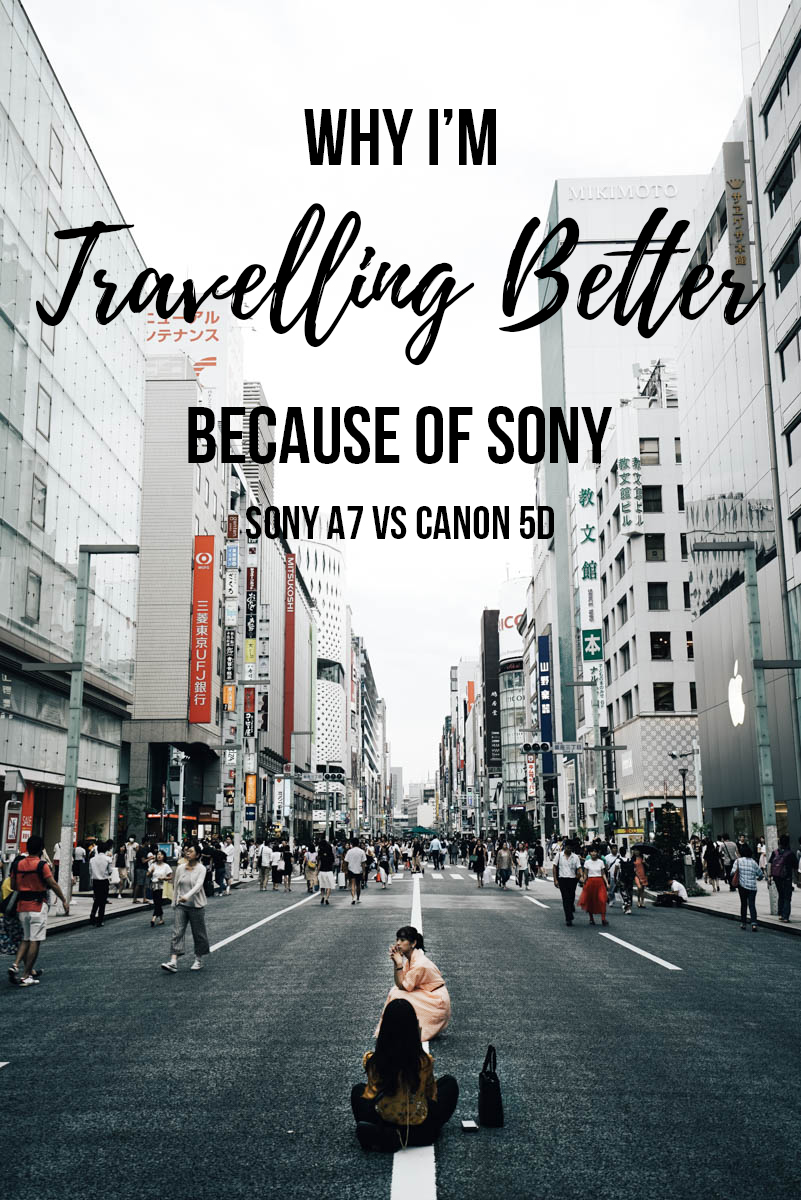 Been a Canon user for the longest time but switching to the Sony A7 series helped me travel better! If you're thinking of switching digital cameras read on for how I made my decision.