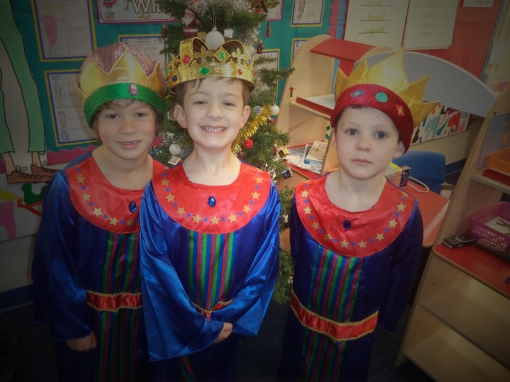 Our brilliant Three Kings!