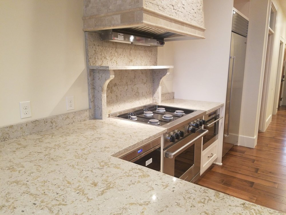 Quartz Countertops Are Man Made Countertops Formed By Combining 90 93%  Ground Quartz (one Of Natures Hardest Minerals) With 8 10% Resins,  Polymers, ...