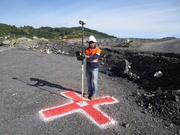 RTK GPS is required for GCP in mapping contour lines