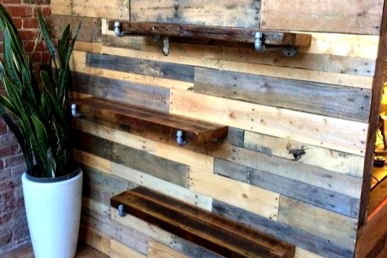 rustic build-out - From shelves to hangers to displays; we do it all!