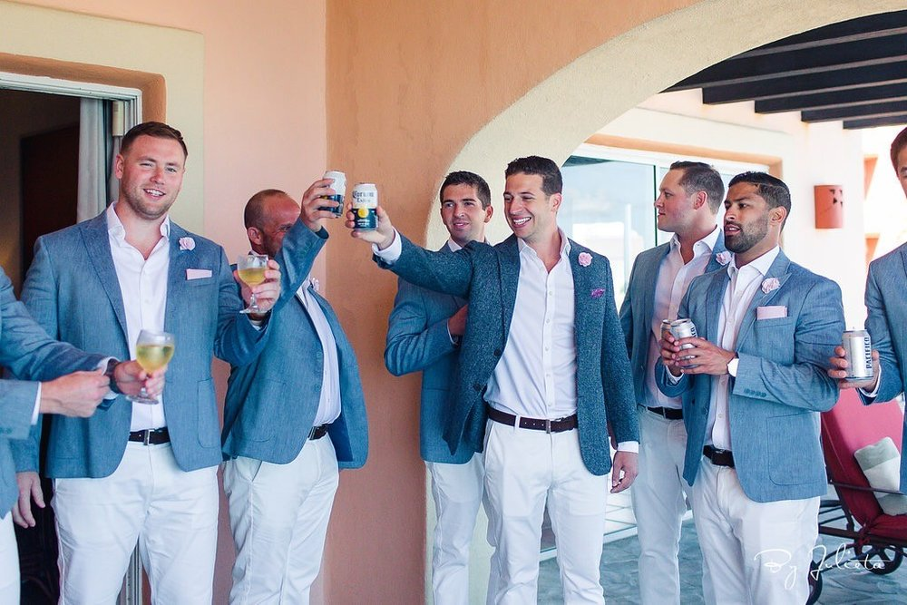 What Color Should The Groom And His Men Wear To A Beach Wedding