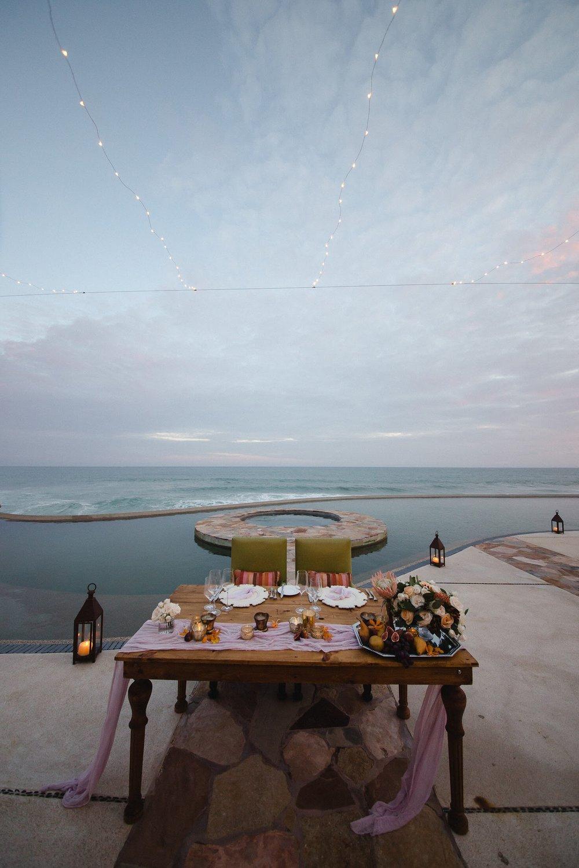 Photography:  Pink Palm Photo   Venue:  Resort at Pedregal   Florals:  Cabo Floral Studio