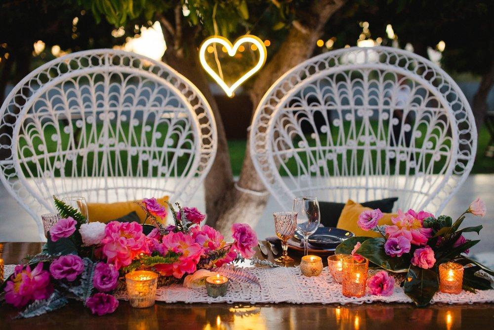 Sweetheart Table - Acre Baja Boho Wedding