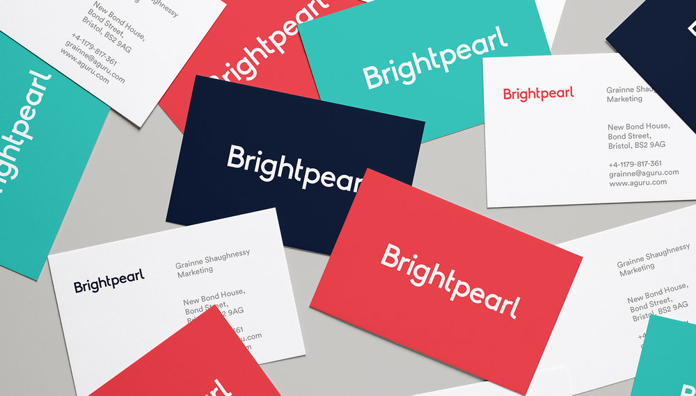 Brightpearl   Art direction, brand, website design
