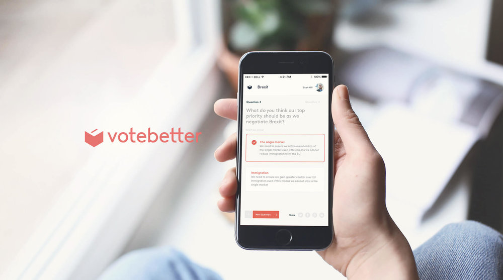 Votebetter   Coming soon