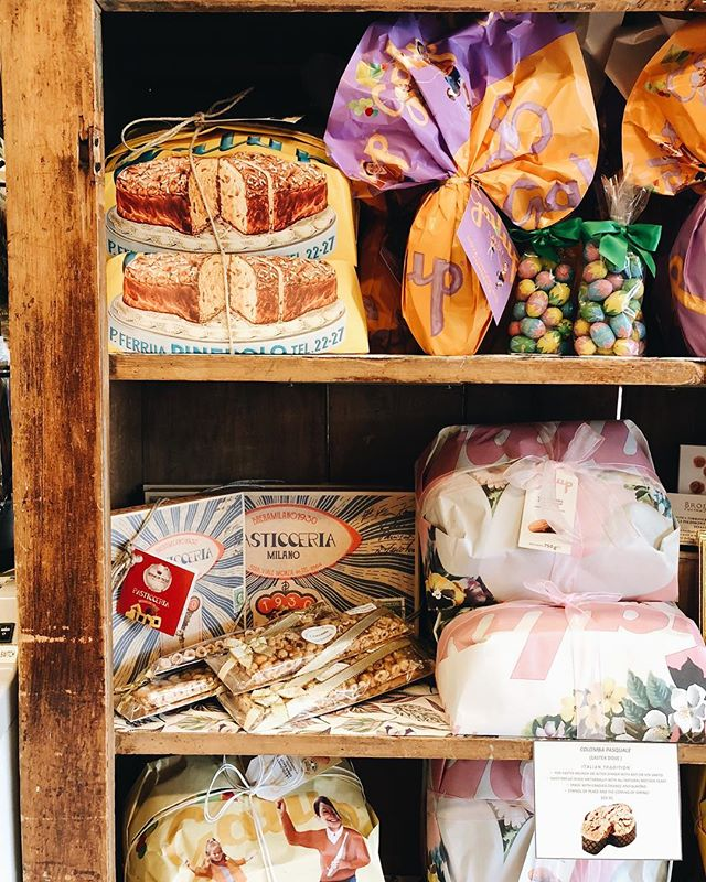 Easter cakes and goodies are here! Try a Colomba Pasquale, a delicious brunch or post-dinner classic Italian Easter sweetbread made with candied orange and almond. It traditionally symbolizes peace and the coming of spring! 🐰🌷🐣 Also! EASTER HOURS: the deli will be open normal Sunday hours this year.