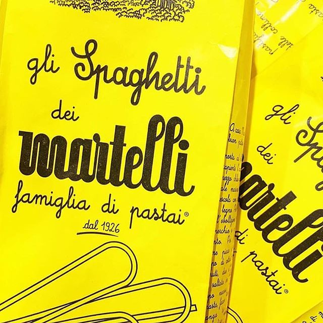 Doesn't hurt when good pasta has the best branding. Available in the deli!