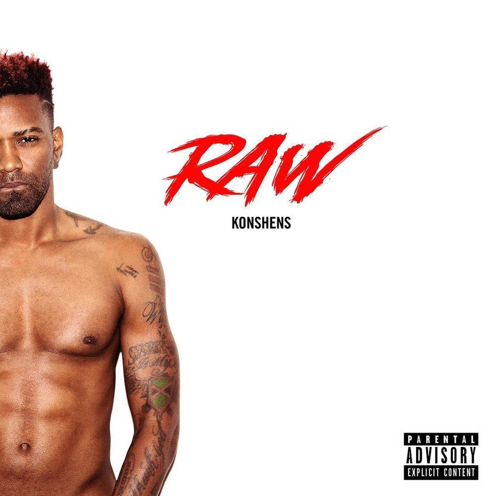Konshens Raw album cover bashy magazine