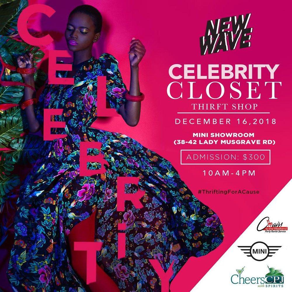 New Wave Celebrity College Thrift Shop