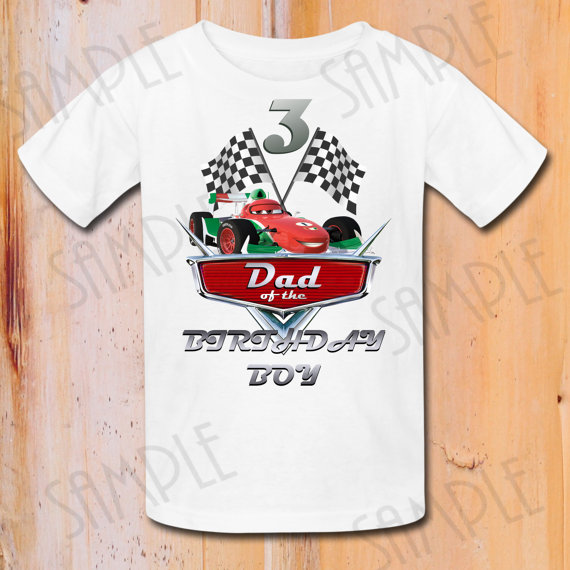 Disney Cars Dad Shirts