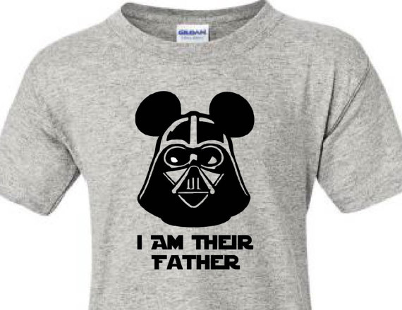 Darth Vader Disney Dad Shirt