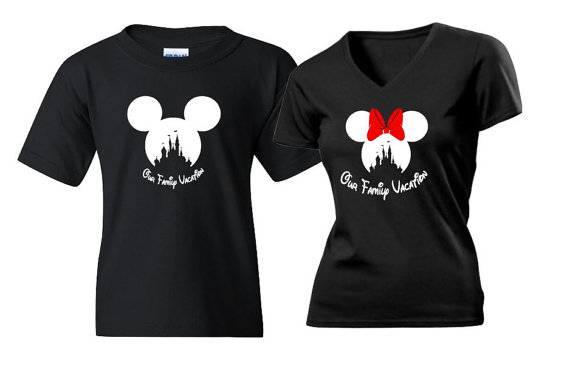 Disney Mom and Dad Shirts
