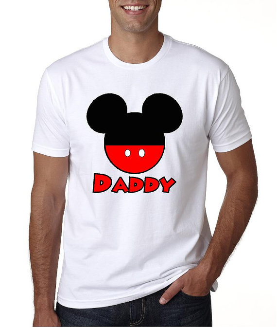 Disney Daddy Shirts
