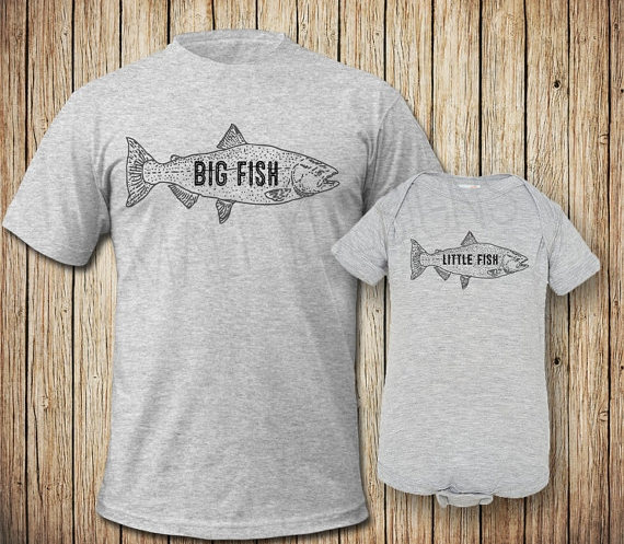 Dad and Baby Fishing Shirts