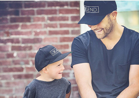 Dad and Kid Trucker Hats - Legend Legacy