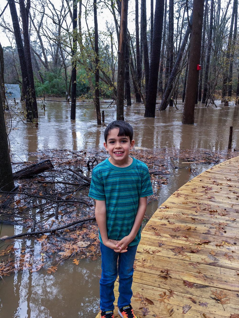 The Woodland Loop is a flood plain for Nancy Creek.