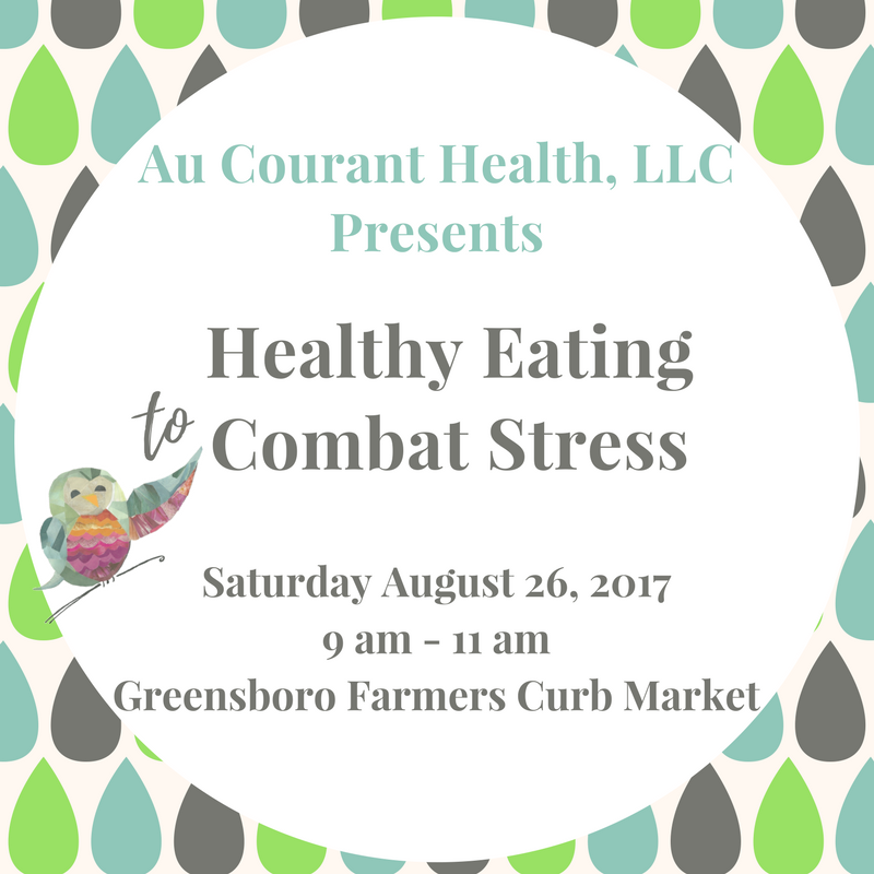 healthy eating to combat stress