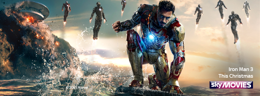 Sky: Iron Man 3   Role: Graphic Design
